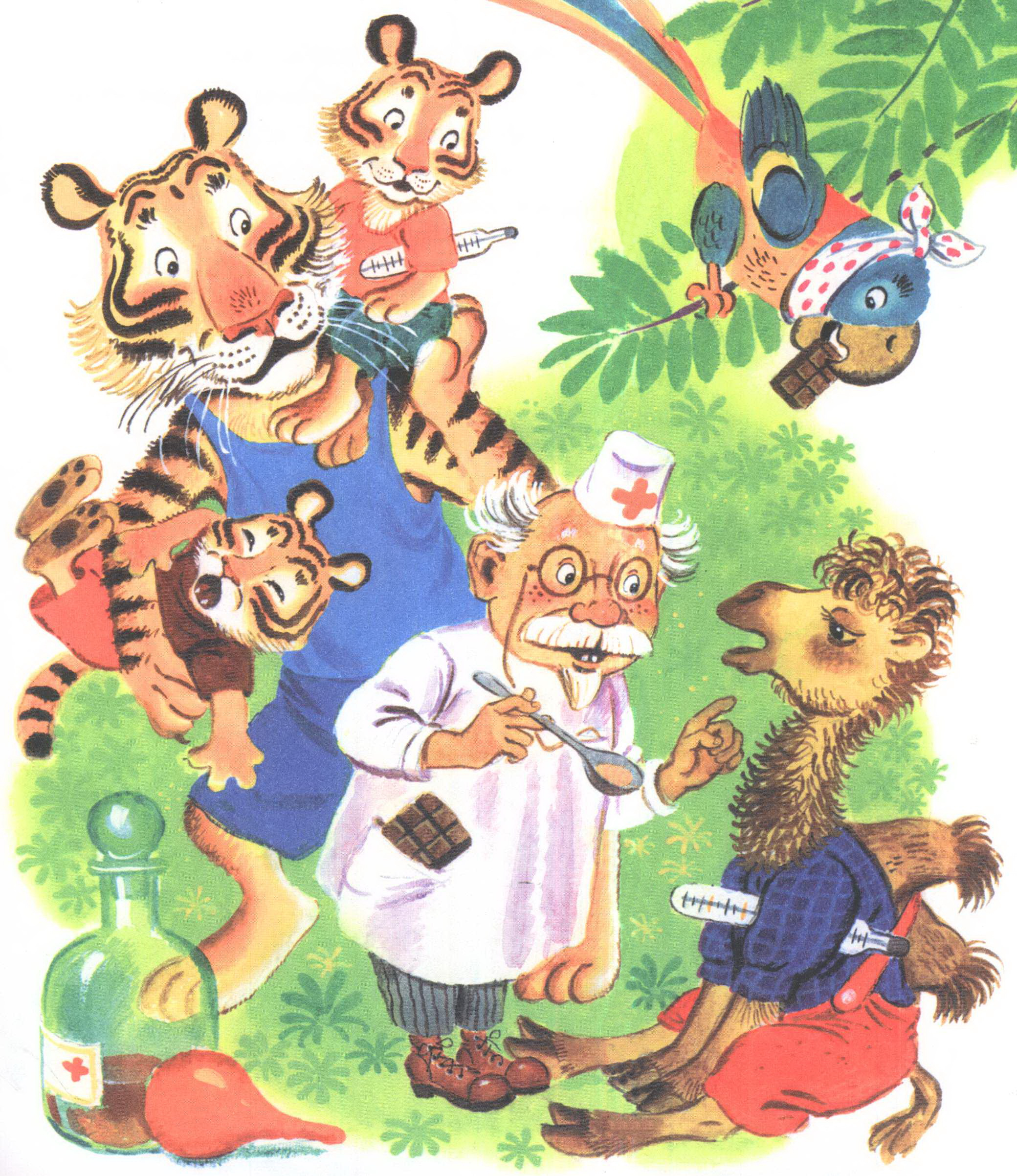 Картинки сказочного доктор айболит