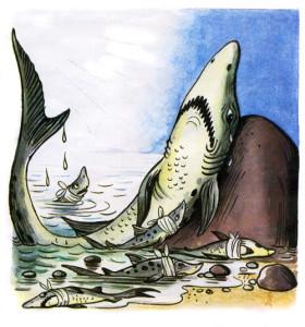 """Акула и укулята из сказки """"Айболит"""""""