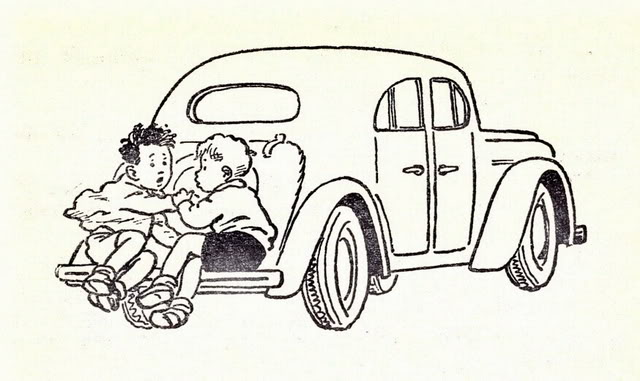 раскраска носова автомобиль