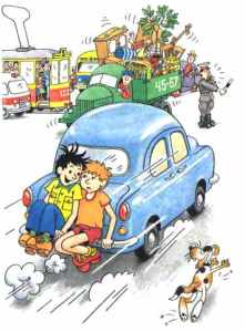 иллюстрация к рассказу носова автомобиль
