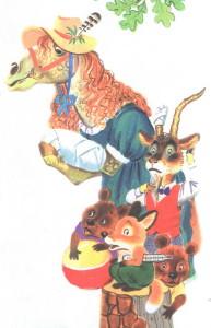 Иллюстрации к сказке Айболит