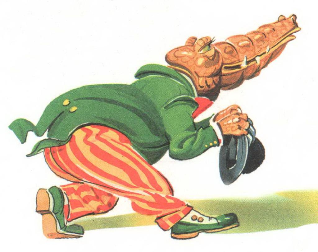 Крокодил сказка Чуковского