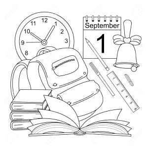 Рисунок к 1 сентября