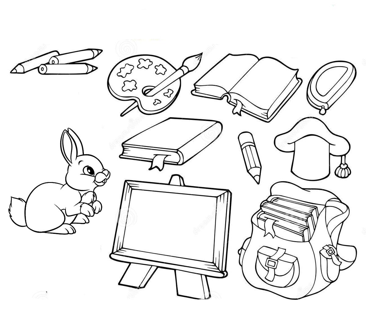 картинки на тему школьные предметы
