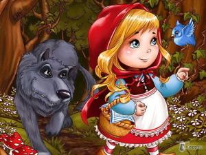 Красная Шапочка, иллюстрация