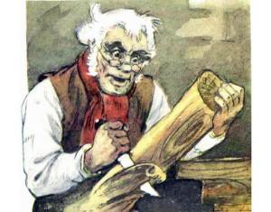 Папа Карло рисунок