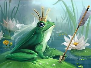 Царевна лягушка рисунок