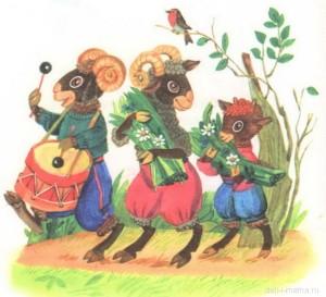 Картинка барашков для детей