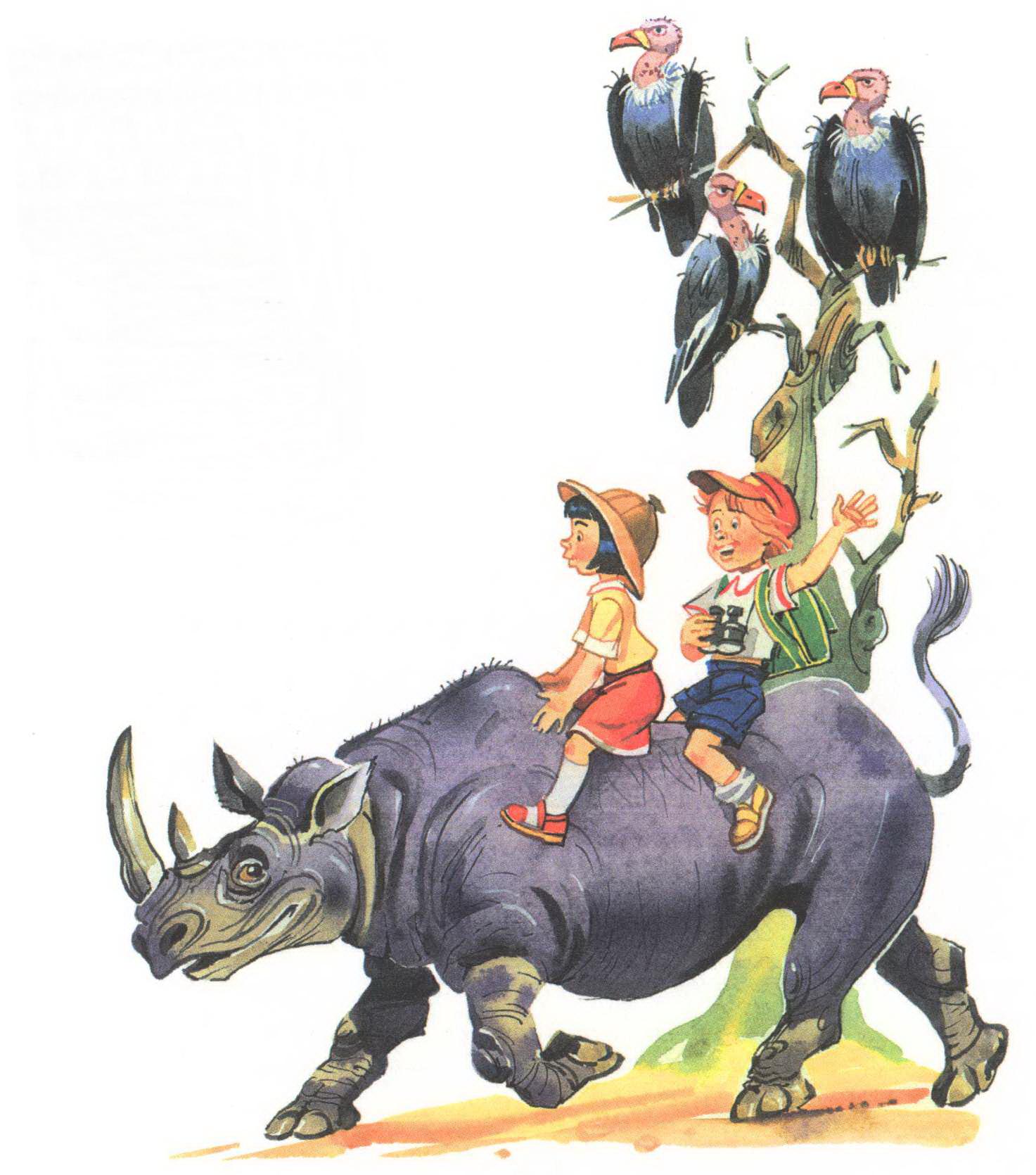 Иллюстрация к Бармалею Чуковского