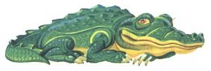 картинка большого крокодила