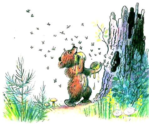 Медвежонок-невежа Барто рисунок