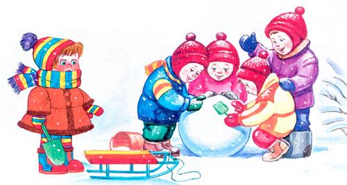 Снежная баба Барто