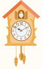 часы с кукушкой для детей