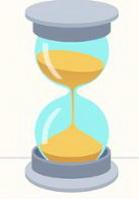 песочные часы картинка для детей