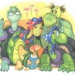 Черепашья семья картинка