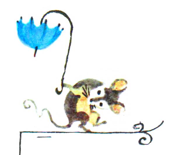 скрюченная мышка