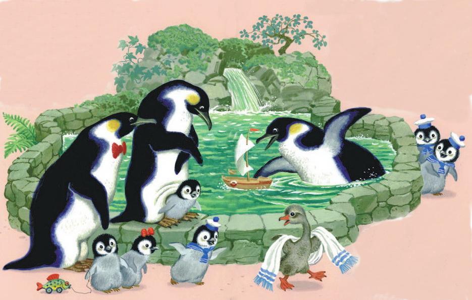 Самуил Маршак. Детки В Клетке. Пингвины