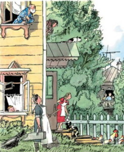 иллюстрация к стихотворению девочка ревушка борто