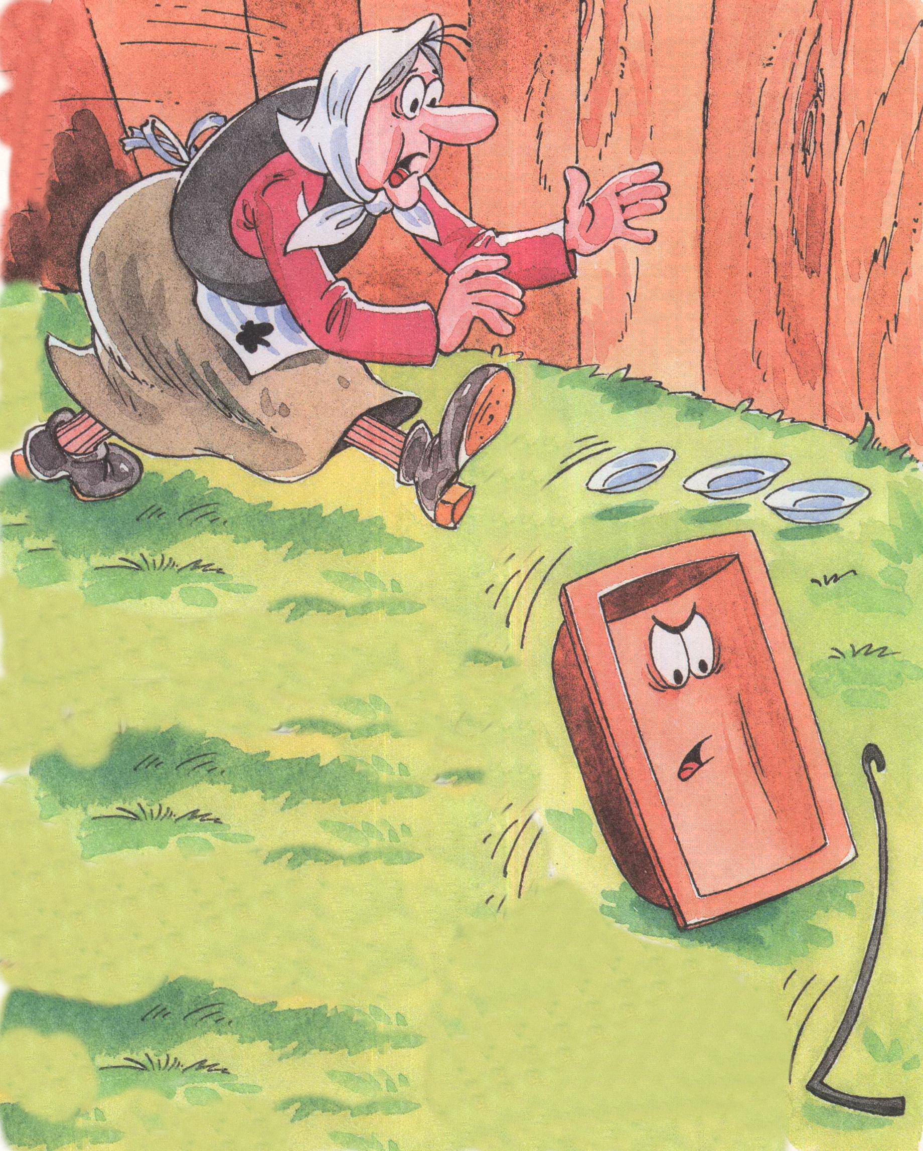 популярное картинки про сказку федорино горе связи
