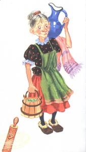 Федора и чистая посуда