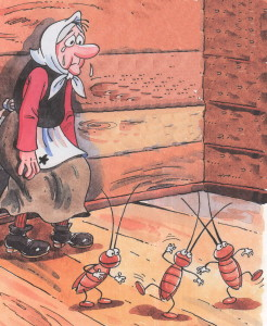 Федора осталась с тараканами