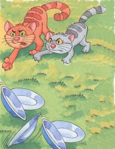 Федорины коты зашипели на тарелки