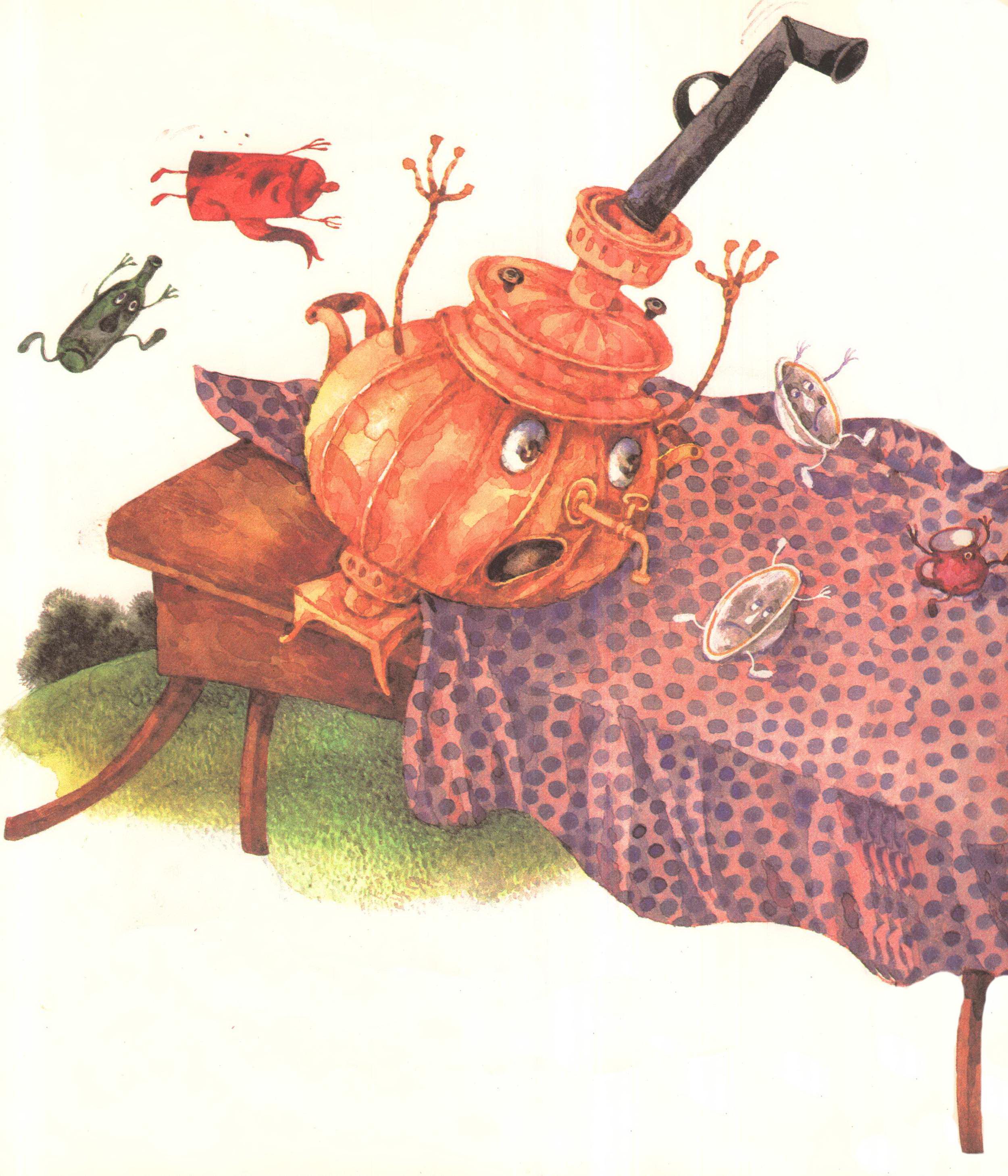 картинки к сказке федорино горе корнея чуковского ранение