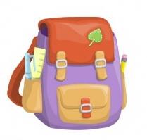 Школьный портфель, рюкзак рисунок
