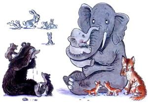 Животные плачут