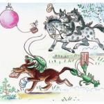 Тараканище Чуковский Иллюстрация