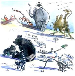 Иллюстрация к произведениям Чуковского