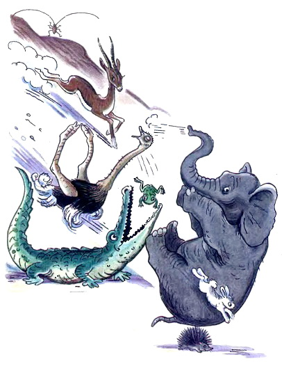 Тараканище, Чуковский, иллюстрации