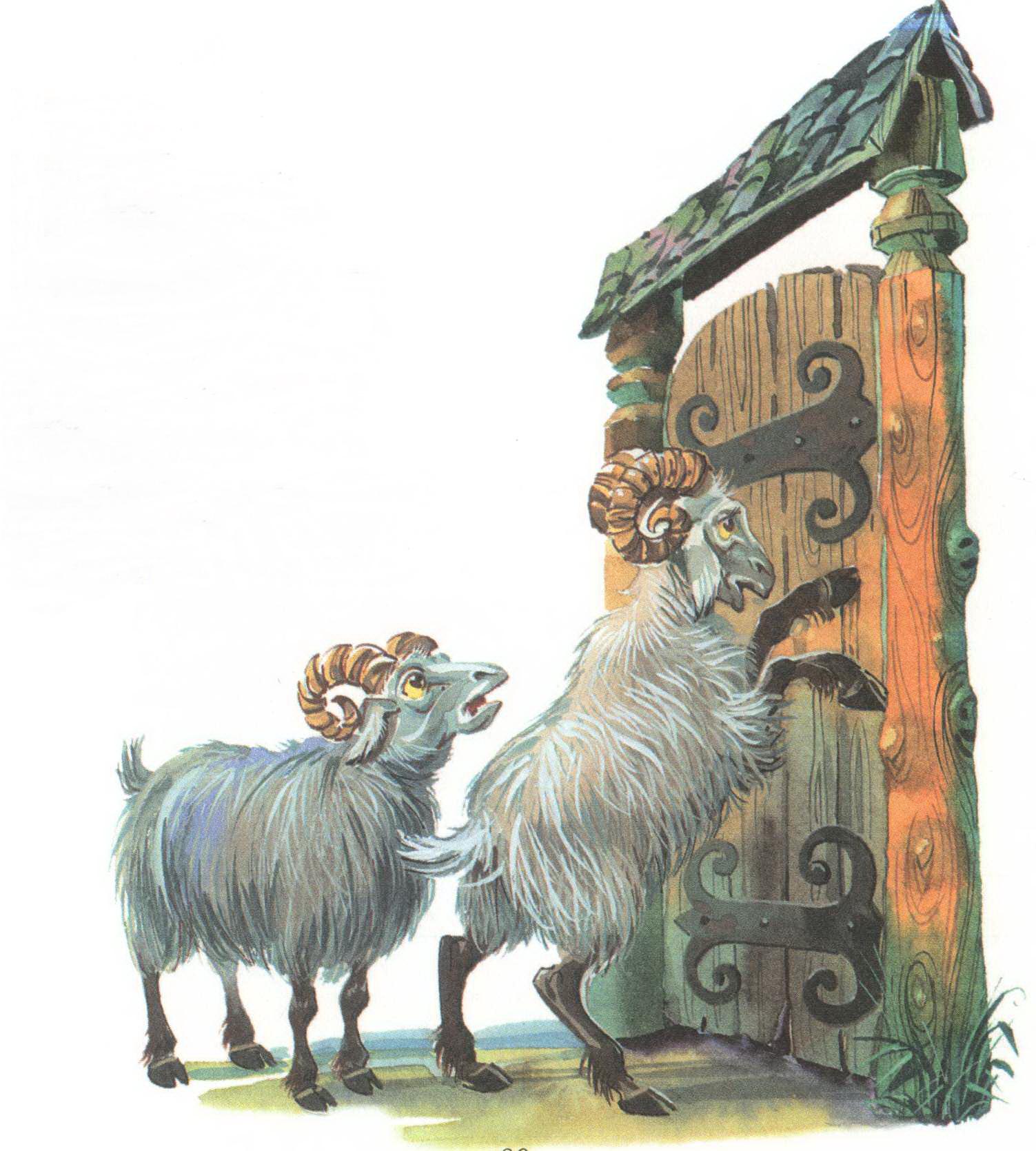 бараны стучат в ворота