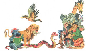 Крокодил и другие звери