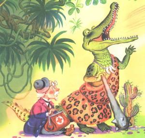 Айболит и крокодил