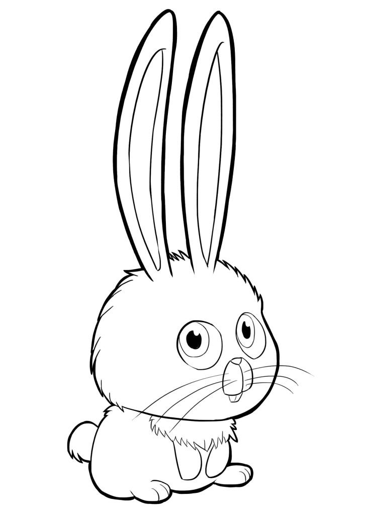 Кролик Сноуболл изТайная жизнь домашних животных