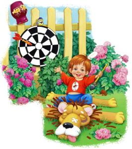 Иллюстрация мой лев Заходер