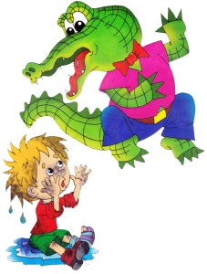 Мойдодыр и крокодил
