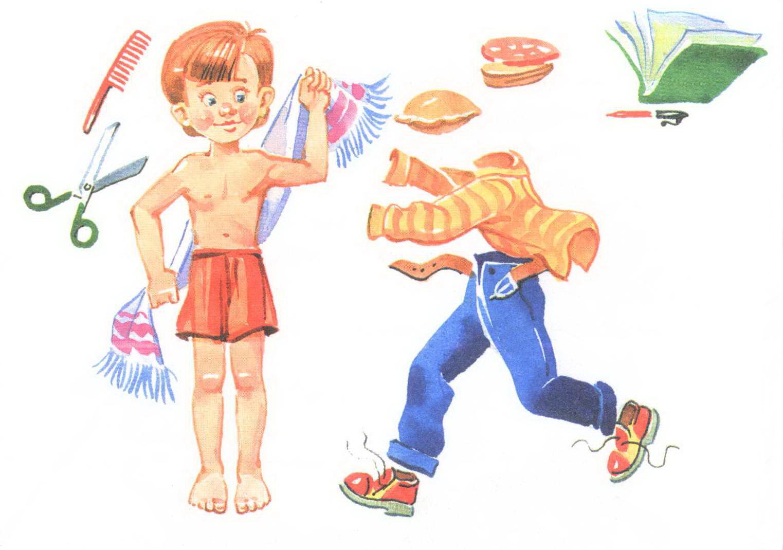 К мальчику вернулась вся одежда