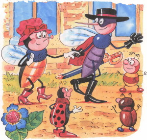 Муха Цокотуха и комарик