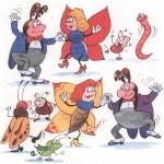 Насекомые танцуют