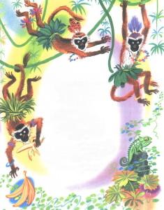 Мартышки в Африке
