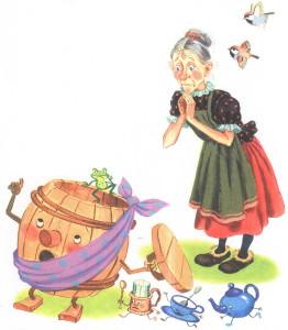 Иллюстрация к сказке Федорино горе