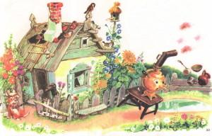 Рисунок к Федорино горе