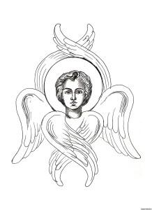 Раскраска Ангела