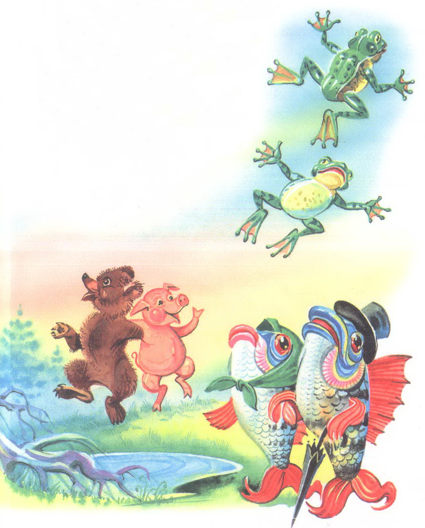 иллюстрации к произведениям к чуковского тогда было