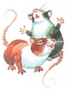 мышки рисунок