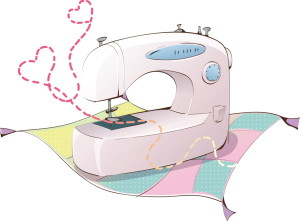 швейная машинка рисунок