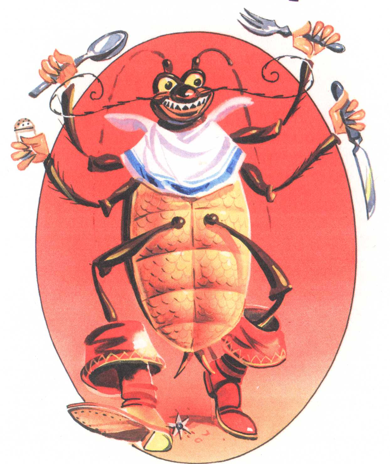 Картинки к мультику тараканище