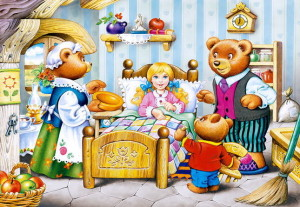 """Сказка """"Три медведя"""""""